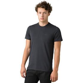 Prana Rex T-shirt avec col ras-du-cou Slim Homme, charcoal